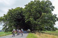 A breakaway group leads on lap two of the Te Wharau circuit during stage four of the NZ Cycle Classic UCI Oceania Tour (Te Wharau-Admiral Hill Queen Stage) in Wairarapa, New Zealand on Saturday, 18 January 2020. Photo: Dave Lintott / lintottphoto.co.nz