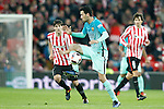 Athletic de Bilbao's Mikel San Jose (l) and FC Barcelona's Sergio Busquets during Spanish Kings Cup match. January 05,2017. (ALTERPHOTOS/Acero)