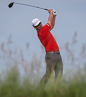 160719 | The 148th Open - Tuesday Practice<br /> <br /> Zach Johnson of USA on the 17th tee during practice for the 148th Open Championship at Royal Portrush Golf Club, County Antrim, Northern Ireland. Photo by John Dickson - DICKSONDIGITAL