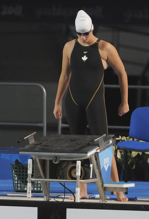 Jana Murphy, Guadalajara 2011 - Para Swimming // Paranatation.<br /> Jana Murphy swims to the silver medal in the 100m breaststroke S14 // Jana Murphy gagne l'argent en le 100 m brasse S14. 11/13/2011.