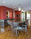 Modern Richmond kitchen with large island.