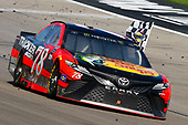 2017 Monster Energy NASCAR Cup Series - Kobalt 400<br /> Las Vegas Motor Speedway - Las Vegas, NV USA<br /> Sunday 12 March 2017<br /> Martin Truex Jr, Bass Pro Shops/TRACKER BOATS Toyota Camry celebrates his win <br /> World Copyright: Russell LaBounty/LAT Images<br /> ref: Digital Image 17LAS1rl_5352