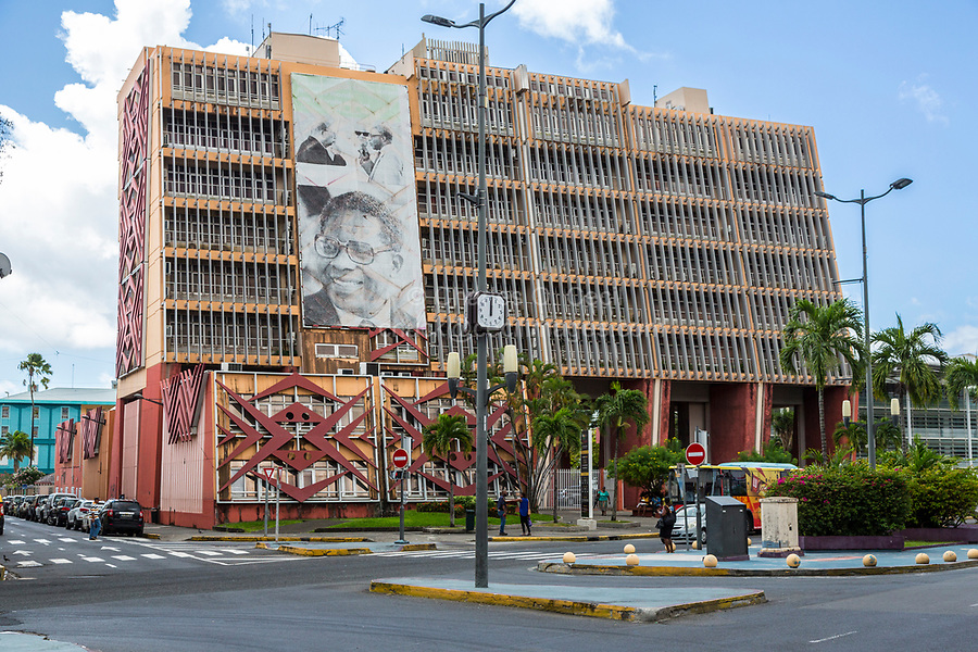 Fort-de-France, Martinique.  Aime Cesaire Theater.