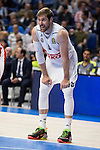 Real Madrid and Crvena Zvezda Telekom during Euroligue Basketball at Barclaycard Center in Madrid, October 22, 2015<br /> Andres Nocioni.<br /> (ALTERPHOTOS/BorjaB.Hojas)