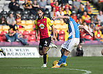 Partick Thistle v St Johnstone…10.09.16..  Firhill  SPFL<br />Steven MacLean scores the second goal<br />Picture by Graeme Hart.<br />Copyright Perthshire Picture Agency<br />Tel: 01738 623350  Mobile: 07990 594431