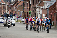 breakaway group with André Greipel (DEU/Israel Start-Up Nation) up the Oude Kruisberg<br /> <br /> 64th E3 Classic 2021 (1.UWT)<br /> 1 day race from Harelbeke to Harelbeke (BEL/204km)<br /> <br /> ©kramon