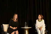 Susan Cain and Susan David at Coaching in Leadership and Healthcare Conference by the Institute of Coaching and Harvard Medical School at the Renaissance Hotel Boston MA October 13 and 14, 2017