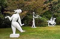 Sculptures, The Field Gallery, Chilmark, Martha's Vineyard, Massachusetts, USA