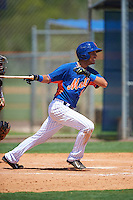 GCL Mets third baseman Rigoberto Terrazas (11) at bat during a game against the GCL Marlins on August 12, 2016 at St. Lucie Sports Complex in St. Lucie, Florida.  GCL Marlins defeated GCL Mets 8-1.  (Mike Janes/Four Seam Images)