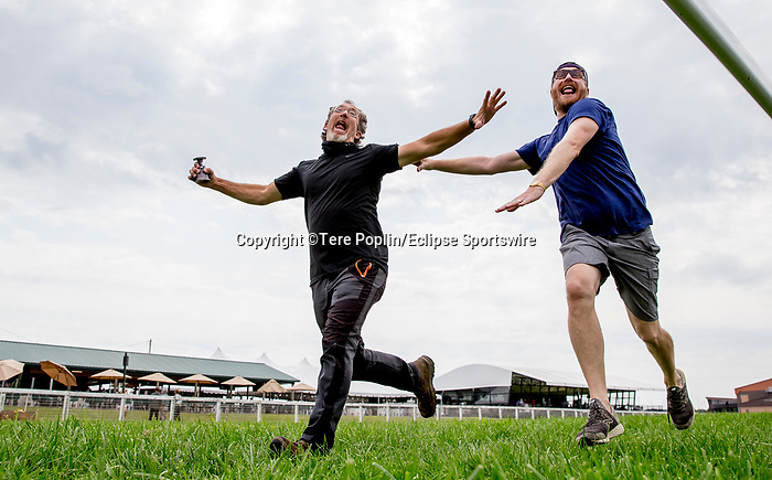November 8, 2021: Scenes from the Eclipse Sportswire Photo Workshop at Kentucky Downs in Franklin, Kentucky, photo by Tere Poplin/Eclipse Sportswire Photo Workshop