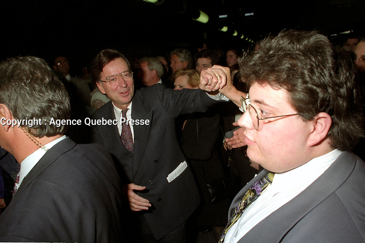Montreal (Qc) Canada  file Photo - april 13 1994 - Quebec Liberal Party convention, Robert Bourassa
