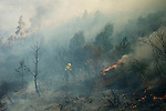 2013-09-01-SPAIN-FOREST FIRE-MONTERREI-VERIN-OURENSE