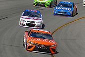 Monster Energy NASCAR Cup Series<br /> Toyota Owners 400<br /> Richmond International Raceway, Richmond, VA USA<br /> Sunday 30 April 2017<br /> Daniel Suarez, Joe Gibbs Racing, ARRIS Toyota Camry and Chris Buescher, JTG Daugherty Racing, KingsFord Fusion Chevrolet SS<br /> World Copyright: Russell LaBounty<br /> LAT Images<br /> ref: Digital Image 17RIC1Jrl_6174