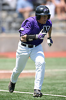 May 14, 2009:  Stephen Smith of Niagara University running the bases during a game at Demske Sports Complex in Buffalo, NY.  Photo by:  Mike Janes/Four Seam Images