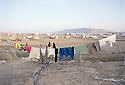 Irak 2000.Le camp de Talahi en fin de journée.Iraq 2000.Talahi camp
