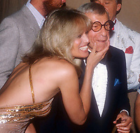 Susan Anton George Burns 1990s<br /> Photo by Adam Scull/PHOTOlink
