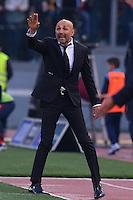 Luciano Spalletti, Roma's coach.<br /> Roma 4-12-2016  Stadio Olimpico<br /> Campionato Serie A, Derby<br /> Lazio -  AS roma<br /> Foto Antonietta Baldassarre / Insidefoto
