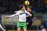 Filip Djuricic<br /> Milano 19-1-2019 Giuseppe Meazza stadium Football Serie A 2018/2019 Inter - Sassuolo <br /> Foto Image Sport / Insidefoto