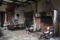 There is an impression that the stony grandeur of the banqueting hall, traditionally the epicentre of the medieval home, has changed very little at Hellens Manor over the ensuing centuries
