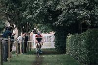 Mathieu van der Poel (NED/Beobank-Corendon) leading the race<br /> <br /> CX Brico Cross Eeklo 2017 (BEL)