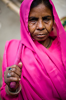 45 year old Bagwati Devi is a member of the 10,000 strong 'Gulabi Gang' (Pink Gang). In the badlands of Bundelkhand, one of the poorest parts of one of India's most populous states, a gang of female vigilantes have sprung up to fight the oppression of a caste-ridden, feudalistic and male dominated society. In a land where dowry demands and domestic and sexual violence are common, the 'Gulabi Gang', so called for their uniform of shocking pink saris, are picking up their lathis to fight against corruption and violence against women.
