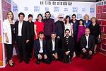The cast of  'Dolor y gloria' attend the premiere in Capitol Cinema, Madrid 13th March 2019. (ALTERPHOTOS/Alconada)