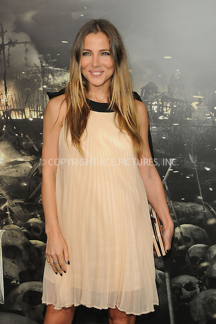 WWW.ACEPIXS.COM . . . . .  ....August 11 2011, LA....Elsa Pataky arriving at the premiere 'Conan The Barbarian' on August 11, 2011 in Los Angeles, California....Please byline: PETER WEST - ACE PICTURES.... *** ***..Ace Pictures, Inc:  ..Philip Vaughan (212) 243-8787 or (646) 679 0430..e-mail: info@acepixs.com..web: http://www.acepixs.com