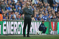Manchester City Manager Pep Guardiola during the Carabao Cup Final match between Chelsea and Manchester City at Stamford Bridge on February 24th 2019 in London, England. (Photo by Paul Chesterton/phcimages.com)<br /> Foto PHC Images / Insidefoto <br /> ITALY ONLY