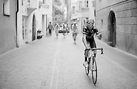 Alejandro Valverde (ESP/Movistar) knew it was gonna be a good day on his way to the start<br /> <br /> stage 16: Bressanone/Brixen - Andalo 132km<br /> 99th Giro d'Italia 2016