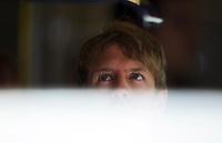 Red Bull Racing's German Sebastian Vettel during the F1 Test days in Montmelo racetrack, Barcelona, 22 February 2012. PHOTO Insidefoto / Alejandro Garcia / Anatomica Press