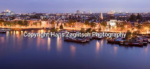 Blick auf Amsterdam (Panoramaformat)