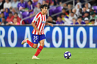 Orlando, FL - Wednesday July 31, 2019:  Manu Sánchez #35 during an Major League Soccer (MLS) All-Star match between the MLS All-Stars and Atletico Madrid at Exploria Stadium.