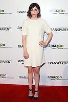 LOS ANGELES, CA, USA - SEPTEMBER 15: Carrie Brownstein arrives at the Los Angeles Premiere Of Amazon Studios' 'Transparent' held at the Ace Hotel on September 15, 2014 in Los Angeles, California, United States. (Photo by David Acosta/Celebrity Monitor)