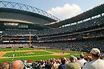 Baseball, Seattle, Safeco Field, Seattle Mariners baseball game, Washington State, USA, .