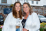 Enjoying the evening in the Ashe Hotel on Friday, l to r: Jodie Moran and Lisa Martin.