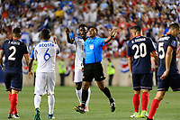 Harrison, NJ - Friday July 07, 2017: Walter Lopez during a 2017 CONCACAF Gold Cup Group A match between the men's national teams of Honduras (HON) vs Costa Rica (CRC) at Red Bull Arena.