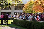 LEXINGTON, KY - OCTOBER 12:  Keeneland Scene. Keeneland Race Course.  October 12, 2016, Lexington, Kentucky. (Photo by Candice Chavez/Eclipse Sportswire/Getty Images)