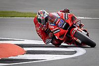 28th August 2021; Silverstone Circuit, Silverstone, Northamptonshire, England; MotoGP British Grand Prix, Qualifying Day; Ducati Lenovo Team rider Jack Miller on his Ducati Desmosedici GP21