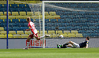 first goal scored for Bristol City by Tommy Conway of Bristol City during Millwall vs Bristol City, Sky Bet EFL Championship Football at The Den on 1st May 2021