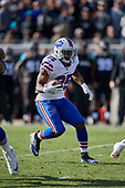 Buffalo Bills running back LeSean McCoy (25) runs the ball up field during an NFL Wild-Card football game against the Jacksonville Jaguars, Sunday, January 7, 2018, in Jacksonville, Fla.  (Mike Janes Photography)