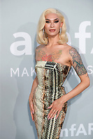 CAP D'ANTIBES, FRANCE - JULY 16:  Miss Fame at the amfAR Cannes Gala 2021 during the 74th Annual Cannes Film Festival at Villa Eilenroc on July 16, 2021 in Cap d'Antibes, France. <br /> CAP/GOL<br /> ©GOL/Capital Pictures