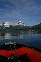 "The ""Devil's Desk"" mountain near Halo Bay, Katmai National Park, Alaskan Peninsula, Alaska"