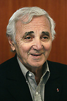 French icom CHARLES AZNAVOUR was giving a unique signing cession for his book 'AZNAVOUR - IMAGES DE MA VIE' at the FNAC DEFENSE. . - Charles Aznavour - Paris, France – April 29th 2006<br /> unimedia/DALLE