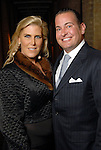 Courtney and Bo Hopson at a private dinner for David Yurman at the home of Becca Cason Thrash Wednesday Dec. 02,2009. (Dave Rossman/For the Chronicle)
