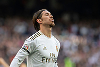 Real Madrid´s Sergio Ramos during La Liga match. February 1, 2020. <br /> (ALTERPHOTOS/David Jar)<br /> 01/02/2020 <br /> Liga Spagna 2019/2020 <br /> Real Madrid - Atletico Madrid  <br /> Foto Alterphotos / Insidefoto <br /> ITALY ONLY