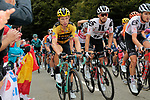Tony Martin (Ger) Team Jumbo-Visma, Nikias Arndt (GER) and Tiesj Benoot (BEL) Team Sunweb climb Col de Marie Blanque during Stage 9 of Tour de France 2020, running 153km from Pau to Laruns, France. 6th September 2020. <br /> Picture: Colin Flockton   Cyclefile<br /> All photos usage must carry mandatory copyright credit (© Cyclefile   Colin Flockton)