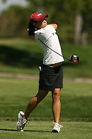 11 April 2007: Ki-Shui Liao during the Peg Barnard Collegiate at the Stanford Golf Course in Stanford, CA.