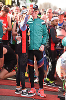 Chris Evans<br /> at the start of the 2016 London Marathon, Blackheath, Greenwich London<br /> <br /> <br /> ©Ash Knotek  D3108 24/04/2016