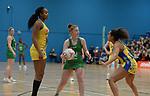 Celtic Dragons v Team Bath - Netball - Saturday 29th February 2020 -  Cardiff Archers Arena  - Cardiff <br /> <br /> © www.sportingwales.com- PLEASE CREDIT IAN COOK