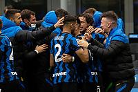 inter-cagliari - milano 11 aprile 2021 - 30° GIORNATA SERIE A - nella foto: darmian segna gol 1-0